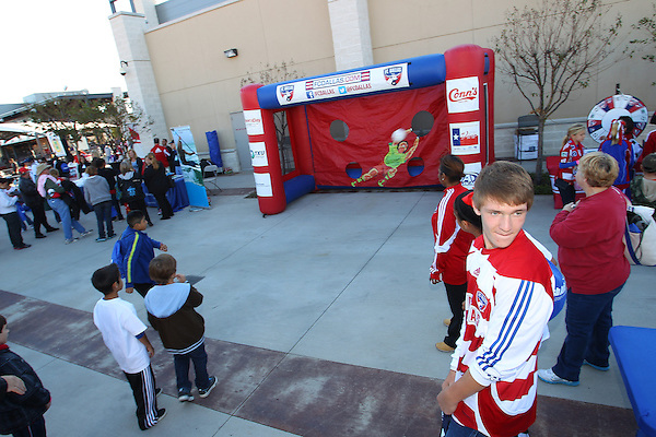 FRISCO, TX - OCTOBER 28: A general view of the north gate concourse at FC Dallas Stadium on October 28, 2012 in Frisco, Texas. Photo: Rick Yeatts