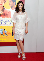 NEW YORK CITY, NY, USA - AUGUST 04: Charlotte Le Bon at the World Premiere Of Dreamworks Pictures' 'The Hundred-Foot Journey' held at Ziegfeld Theatre on August 4, 2014 in New York City, New York, United States. (Photo by Celebrity Monitor)