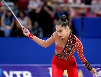 September13, 2018 - Sofia, Bulgaria - VLADA NIKOLCHENKO of Ukraine performs at 2018 World Championships.