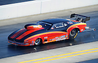 Apr. 14, 2012; Concord, NC, USA: NHRA top sportsman driver John Benoit during qualifying for the Four Wide Nationals at zMax Dragway. Mandatory Credit: Mark J. Rebilas-