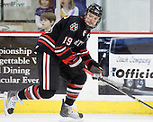 Wade MacLeod (Northeastern - 19) - The visiting Northeastern University Huskies defeated the University of Massachusetts-Lowell River Hawks 3-2 with 14 seconds remaining in overtime on Friday, February 11, 2011, at Tsongas Arena in Lowelll, Massachusetts.