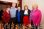 Pictured at the Dance in the Ring of Kerry Hotel on Saturday night in aid of CUH Cancer Treatment Unit were l-r; Kathleen Sweeney, Anthony Sweeney, Johanna O'Sullivan, Mary O'Shea & Betty O'Shea.
