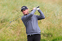 Cormac Sharvin (NIR) on the 6th green during Round 2 of the Irish Open at LaHinch Golf Club, LaHinch, Co. Clare on Friday 5th July 2019.<br /> Picture:  Thos Caffrey / Golffile<br /> <br /> All photos usage must carry mandatory copyright credit (© Golffile | Thos Caffrey)