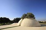 "Israel, Ramat Gan. Dani Karavan's ""White Square"" in Edith Wolfson Park"