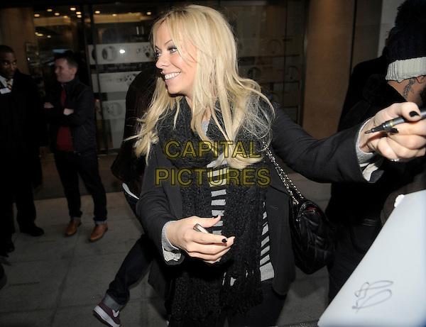 LONDON, ENGLAND - DECEMBER 14 - Liz McClarnon at BBC Radio1 14 December 2013 in London England.<br /> CAP/IA<br /> &copy;Ian Allis/Capital Pictures