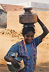 Obtaining water is a difficult task for many in rural India, a job that falls on women and children.
