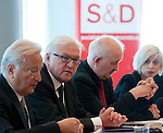 120605: Frank-Walter STEINMEIER for political talks in Brussels