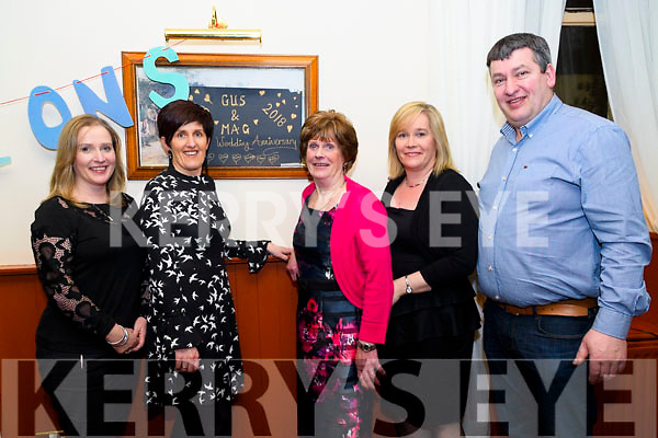 Joining in the celebration of Gus &amp; Margaret Jones' 50th Wedding Anniversary<br /> L-R Sally Victor, Kathleen Counihan, Margaret O'Shea, Siobhan Mangan &amp; Pete Sheehan.