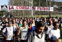 La partenza della Corsa di Miguel a Roma, 20 gennaio 2008..UPDATE IMAGES PRESS/Riccardo De Luca