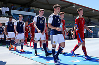 Greg Taylor of Scotland walks out onto the pitch ahead of kick-off during Czech Republic Under-20 vs Scotland Under-20, Toulon Tournament Football at Stade de Lattre-de-Tassigny on 10th June 2017