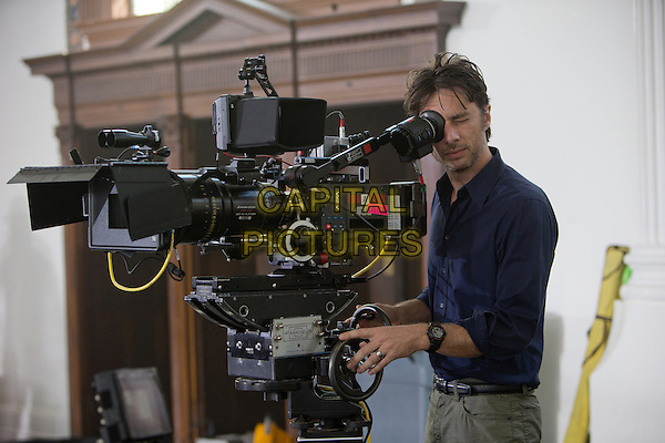 Zach Braff, Director<br /> on the set of Wish I Was Here (2014) <br /> *Filmstill - Editorial Use Only*<br /> CAP/FB<br /> Image supplied by Capital Pictures