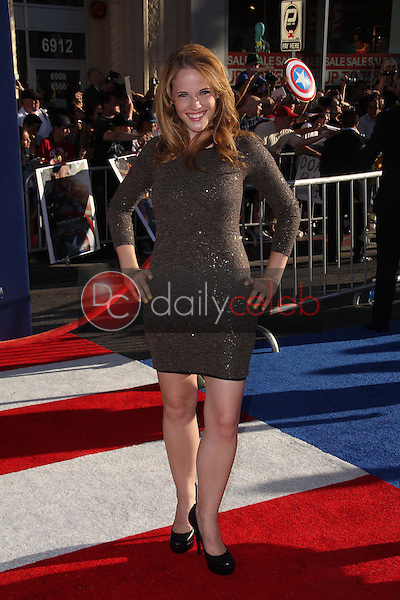 Katie Leclerc<br /> at the Los Angeles Premiere Of &quot;Captain America: The First Avenger,&quot; El Capitan, Hollywood, CA. 07-19-11<br /> David Edwards/DailyCeleb.com 818-249-4998