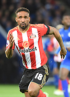 Jermain Defoe of Sunderland during the Premier League match between Leicester City v Sunderland played at King Power Stadium, Leicester on 4th April 2017.<br /> <br /> available via IPS Photo Agency only