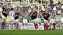 14/10/2006       Copyright Pic: James Stewart.File Name :jspa12_falkirk_v_st_mirren.ANTHONY STOKES CELEBRATES AFTER HE SCORES FALKIRK'S EQUALISER....Payments to :.James Stewart Photo Agency 19 Carronlea Drive, Falkirk. FK2 8DN      Vat Reg No. 607 6932 25.Office     : +44 (0)1324 570906     .Mobile   : +44 (0)7721 416997.Fax         : +44 (0)1324 570906.E-mail  :  jim@jspa.co.uk.If you require further information then contact Jim Stewart on any of the numbers above.........