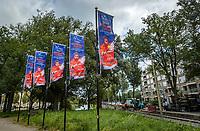 The Hague, The Netherlands, September 13, 2017,  Sportcampus , Davis Cup Netherlands - Chech Republic, Training Dutch team, <br /> Photo: Tennisimages/Henk Koster