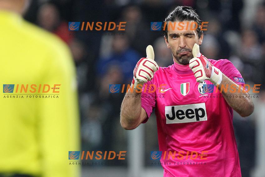 "Gianluigi Buffon.Torino 20/11/2012 Stadio ""Juventus"".Football Calcio UEFA Champions League 2012/13.Juventus v Chelsea.Foto Insidefoto Paolo Nucci."