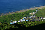 Orchid Island (蘭嶼), Taiwan -- Yeyin Village seen from the high-vantage point of the Orchid Island weather station.