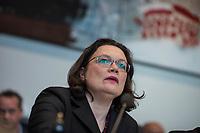 2018/04/17 Politik | SPD-Fraktion | Andrea Nahles