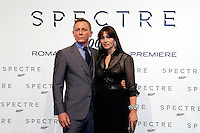 Daniel Craig e Monica Bellucci<br /> Roma 27-10-2015 Auditorium della Conciliazione. 007 Spectre Red Carpet.<br /> Photo Samantha Zucchi Insidefoto