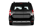 Straight rear view of a 2017 Dacia Dokker Stepway SL Explorer 5 Door Mini Van stock images