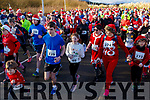 Ready for the Santa Fun run in memory of Fiona Moore, in the Tralee Bay Wetlands on Sunday.