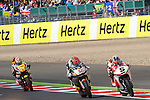 hertz british grand prix during the world championship 2014.<br /> Silverstone, england<br /> August 31, 2014. <br /> Race Moto2<br /> Johann zarco<br /> mika kallio<br /> PHOTOCALL3000/ RME