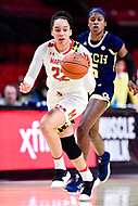 College Park, MD - NOV 29, 2017: Maryland Terrapins guard Blair Watson (22) during ACC/Big Ten Challenge game between Gerogia Tech and the No. 7 ranked Maryland Terrapins. Maryland defeated The Yellow Jackets 67-54 at the XFINITY Center in College Park, MD.  (Photo by Phil Peters/Media Images International)