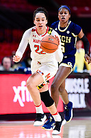 NCAA WOMEN'S BASKETBALL: Georgia Tech at Maryland