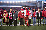 Wisconsin Badgers XXXX during an NCAA College Big Ten Conference football game against the Iowa Hawkeyes Saturday, November 11, 2017, in Madison, Wis. The Badgers won 38-14. (Photo by David Stluka)