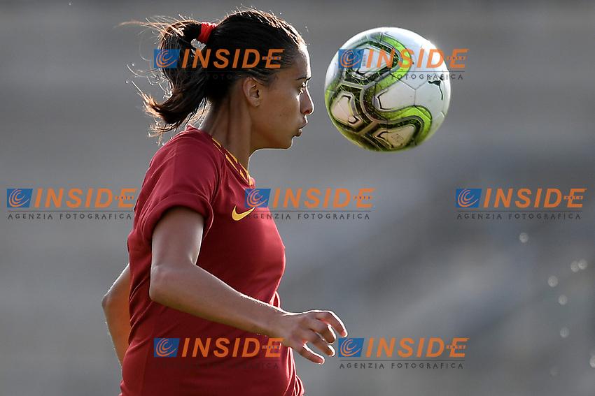 Andressa Alves Da Silve of AS Roma <br /> Roma 8/9/2019 Stadio Tre Fontane <br /> Luisa Petrucci Trophy 2019<br /> AS Roma - Paris Saint Germain<br /> Photo Andrea Staccioli / Insidefoto