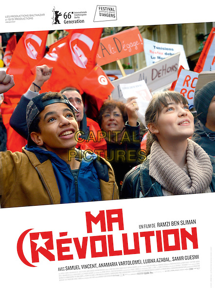 Ma revolution (2016)<br /> POSTER ART<br /> *Filmstill - Editorial Use Only*<br /> CAP/KFS<br /> Image supplied by Capital Pictures