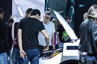SÃO PAULO, 08.11.2018  - SALAO DO AUTOMOVEL  - Movimentação do público durante o primeiro dia da  30ª edição do Salão do Automóvel nesta quinta-feira (08) no São Paulo Expo, zona sul da capital paulista.<br /> (Foto: Fabricio Bomjardim / Brazil Photo Press)