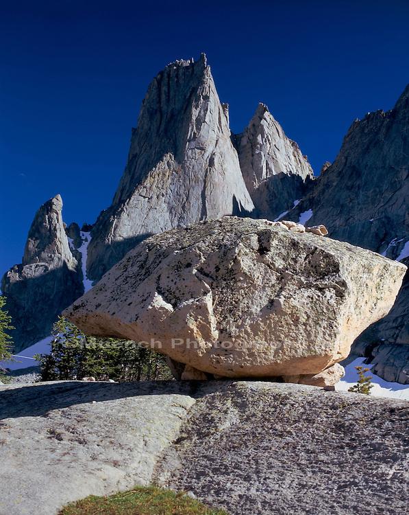 Warbonnet Peak, Cirque of Towers, Wind River Range, Bridger Wilderness