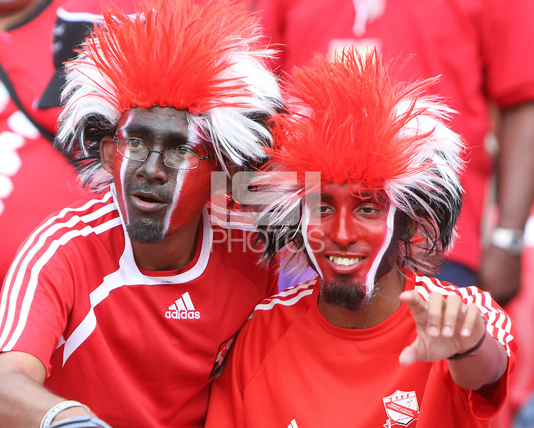 Trinidad fans. England defeated Trinidad & Tobago 2-0 in their FIFA World Cup group B match at Franken-Stadion, Nuremberg, Germany, June 15 2006.