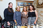 Elaine and Caroline Crowley, Aoife Herbert and Margaret Crowley from the Spa Tralee enjoying the night out in Bella Bia on Saturday night.