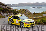 Elaine Ní Shí from Dingle was the first female navigator to ever win the Group N category of the Rally of the Lakes last Weekend guiding Gavin Kelly in his Mitsubishi Evo in and around the rock faced Cods Head stage on Saturday.