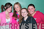 Nichole Frawley, Shannon O'Neill, Molly Purtill and Laura Murphy were at the boxing competitions in Ballybunion Community Centre on Thursday night...   Copyright Kerry's Eye 2008