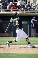 Khris Davis - Oakland Athletics 2016 spring training (Bill Mitchell)
