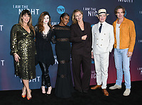 "09 May 2019 - North Hollywood, California - Patty Jenkins, India Eisley, Golden Brooks, Connie Nielsen, Jefferson Mays, Chris Pine. Emmy FYC for TNT'S ""I Am the Night"" held at the Saban Media Center at the Television Academy. Photo Credit: Birdie Thompson/AdMedia"
