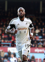 Pictured: Dwight Tiendalli of Swansea. 01 February 2014<br />
