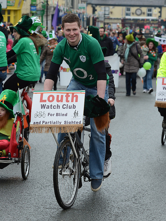 Dunleer St Patrick's day parade. Photo:Colin Bell/pressphotos.ie