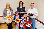 Mary Hurley, Barbara Loverich, Liam Waldron, Jessica, Jacinta and Julie Griffin at the CBS The Green Bake Sale in St Brendans Pastoral centre on Sunday