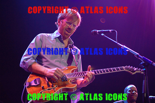 Trey Anastasio; 2006; Performs at Madison Square Garden;<br /> Photo Credit: Eddie Malluk/Atlasicons.com