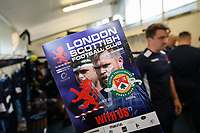 Match day programme for the Greene King IPA Championship match between London Scottish Football Club and Ealing Trailfinders at Richmond Athletic Ground, Richmond, United Kingdom on 8 September 2018. Photo by David Horn.