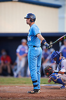 SCF Manatees Ryan Karstetter (24) at bat during a game against the College of Central Florida Patriots on February 8, 2017 at Robert C. Wynn Field in Bradenton, Florida.  SCF defeated Central Florida 6-5 in eleven innings.  (Mike Janes/Four Seam Images)