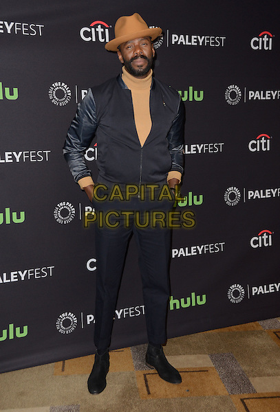 19 March 2016 - Hollywood, California - Colman Domingo. The Paley Center For Media's 33rd Annual PaleyFest Los Angeles - &quot;Fear The Walking Dead&quot; held at Dolby Theater.  <br /> CAP/ADM/BT<br /> &copy;BT/ADM/Capital Pictures