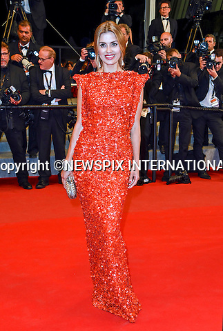 17.05.2015; Cannes France: VICTORIA BONYA<br /> attends the &quot;Carol&quot; screening at the 68th Cannes Film Festival.<br /> Mandatory Credit Photo: &copy;Franck Castel/NEWSPIX INTERNATIONAL<br /> <br /> **ALL FEES PAYABLE TO: &quot;NEWSPIX INTERNATIONAL&quot;**<br /> <br /> PHOTO CREDIT MANDATORY!!: NEWSPIX INTERNATIONAL(Failure to credit will incur a surcharge of 100% of reproduction fees)<br /> <br /> IMMEDIATE CONFIRMATION OF USAGE REQUIRED:<br /> Newspix International, 31 Chinnery Hill, Bishop's Stortford, ENGLAND CM23 3PS<br /> Tel:+441279 324672  ; Fax: +441279656877<br /> Mobile:  0777568 1153<br /> e-mail: info@newspixinternational.co.uk