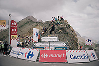 waiting fans up the highest point in the 2017 TdF: The Galibier (HC/2642m/17.7km/6.9%)<br /> <br /> 104th Tour de France 2017<br /> Stage 17 - La Mure › Serre-Chevalier (183km)