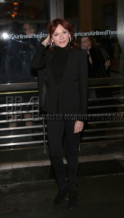 "Marilu Henner attends the Broadway Opening Night performance of Roundabout Theatre Production  of ""The Price"" at the American Airlines TheatreTheatre on March 16, 2017 in New York City."