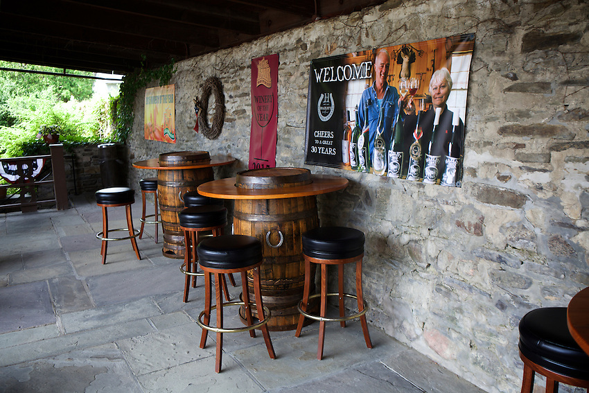 Naples, NY - June 23, 2016: The Tasting Room at Hazlitt's Red Cat Cellars.<br /> CREDIT: Clay Williams.<br /> <br /> &copy; Clay Williams / claywilliamsphoto.com